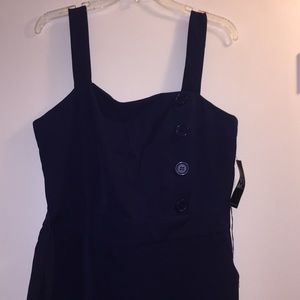 NYC Navy Jumpsuit